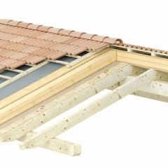 Isolamento e rifacimento tetto in legno